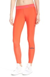 Adidas By Stella Mccartney Women's Run Climalite Tights Bright Red Bright Red