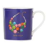 Kate Spade 'Things We Love Mug' Sparkly