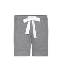 81 Hours Orion Cotton And Cashmere Shorts Grey