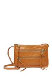 Hobo Mission Leather Crossbody Bag Earth