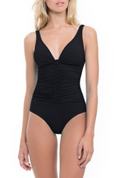 Gottex Women's Profile By Waterfall One Piece Swimsuit