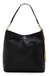 Vince Camuto Risa Leather Hobo Black