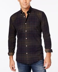 Barbour Men's Lawrence Plaid Button Down Shirt Classic Tartan