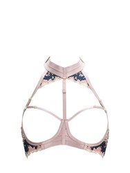 Bordelle Wilde Lace Ouvert Wire Bra Pink