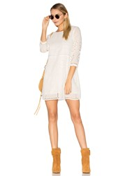 Amuse Society Ophelia Dress White
