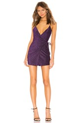 Privacy Please Sapphire Mini Dress Purple