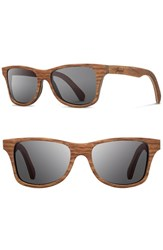 Shwood Men's 'Canby' 54Mm Wood Sunglasses Walnut