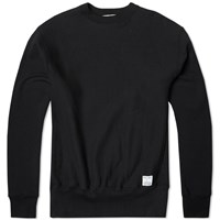 Mki Miyuki Zoku Mki Heavyweight Made In Usa Crew Neck Sweat Black
