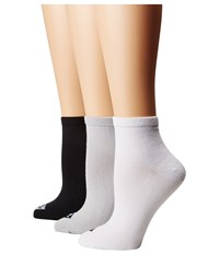 Sperry Ankle Socks 3 Pack Black Assorted No Show Socks Shoes Multi