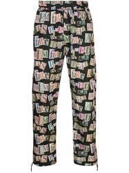 Palm Angels Graphic Print Track Pants 60