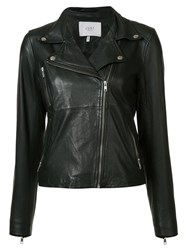 Just Female Zipped Pocket Biker Jacket Black
