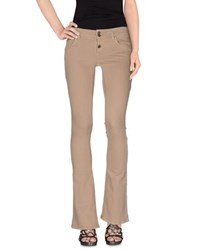 Twenty Easy By Kaos Denim Denim Trousers Women Khaki