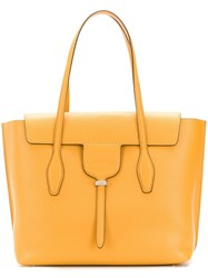 Tod's Joy Medium Tote Bag Yellow