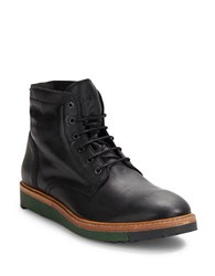 Diesel Jarghe Leather High Top Boots Black