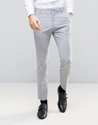 Selected Homme Slim Suit Trouser Grey