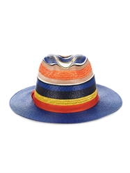 Missoni Mare Multi Stripe Raffia Hat