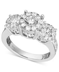 Prestige Unity Diamond Engagement Ring In 14K White Gold 1 1 2 Ct. T.W.