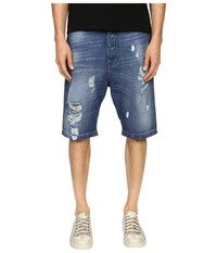 Vivienne Westwood Anglomania Cargo Shorts Blue Denim Men's Shorts