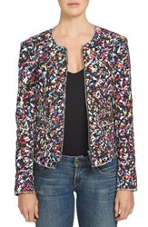 1.State Women's Cotton Tweed Jacket