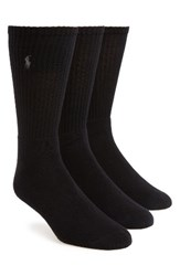 Polo Ralph Lauren Men's 3 Pack Crew Socks