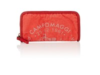 Campomaggi Zip Around Wallet Red