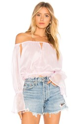 Lioness Richie Off Shoulder Top Pink