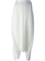 Nomad Harem Trousers White