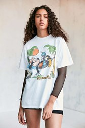 Junk Food Mickey Summer Daze Tee White