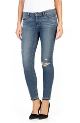 Paige Women's Transcend Verdugo Released Hem Ankle Skinny Jeans