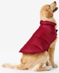 32 Degrees Reversible Down Puffer Coat For Dogs Carmine Red