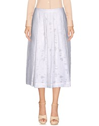 Devotion 3 4 Length Skirts White