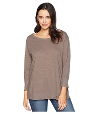 Fresh Produce Emily 3 4 Sleeve Top Portobello Clothing Beige
