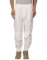 Closed Trousers Casual Trousers Men White