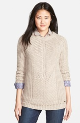 Barbour 'Sinderhope' Crewneck Sweater Shell