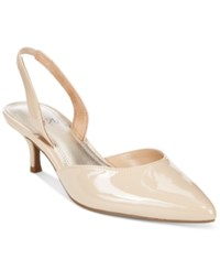 Impo Elate Slingback Pumps Women's Shoes Latte