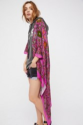 Free People Womens Magic Dance Border Print