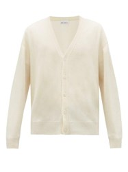 Raey Loose Fit Cashmere Cardigan Ivory
