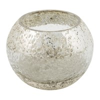 Amara Crackle Tealight Holder