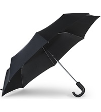 Fulton Open And Close Umbrella Black