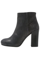 Unisa Lale High Heeled Ankle Boots Black