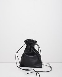 Simone Rocha Big Drawstring Bag Black