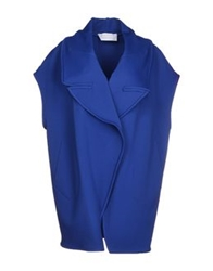 Gianluca Capannolo Full Length Jackets Bright Blue