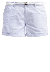 Superdry Shorts Blue Stripe White