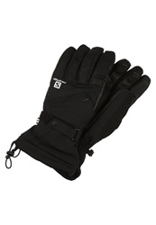 Salomon Tactile Gloves Black