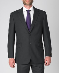 Simon Carter Formal Single Breasted Wool Jacket Grey