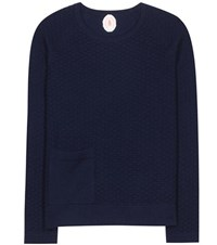 Jardin Des Orangers Wool And Cashmere Sweater Blue