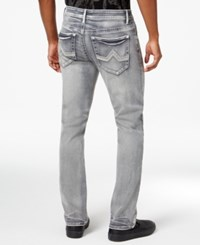 Inc International Concepts Men's Slim Straight Fit Gray Wash Jeans Only At Macy's Grey Wash