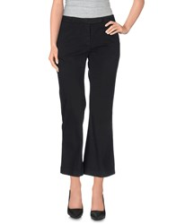 Douuod Trousers 3 4 Length Trousers Women Black