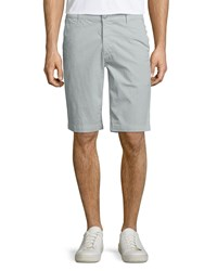 Ag Adriano Goldschmied Griffin Flat Front Shorts Light Gray Light Grey