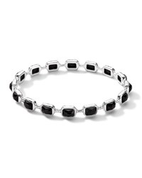 Ippolita Rock Candy Multi Stone Bangle In Black Black Onyx Silver